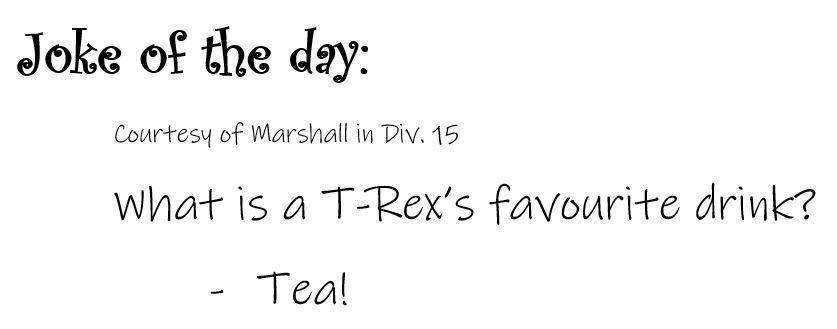Joke 29 T-Rex