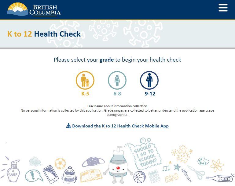 K-12 Health Check