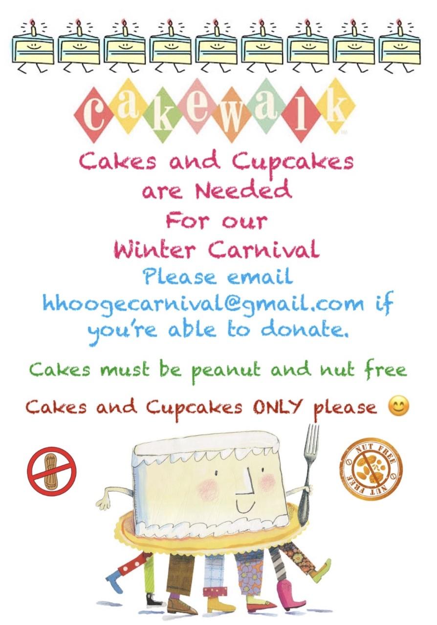 Cakes Needed